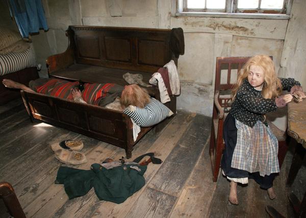Sådan boede danskerne i byerne i 1864